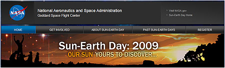 Sun-Earth Day